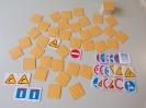 Znaki drogowe : edukacyjna gra towarzyska (gra dla dzieci)