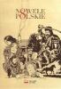 Okładka egzemplarza 'Nowel Polskich' z ilustracjami przygotowanymi specjalnie z myślą o 8. edycji Narodowego Czytania.