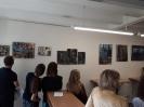 Wernisaż Michała Leśniaka w Galerii Prac Plastycznych Uczniów, 24 maja 2018